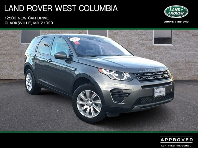 Certified Pre Owned 2017 Land Rover Discovery Sport Se
