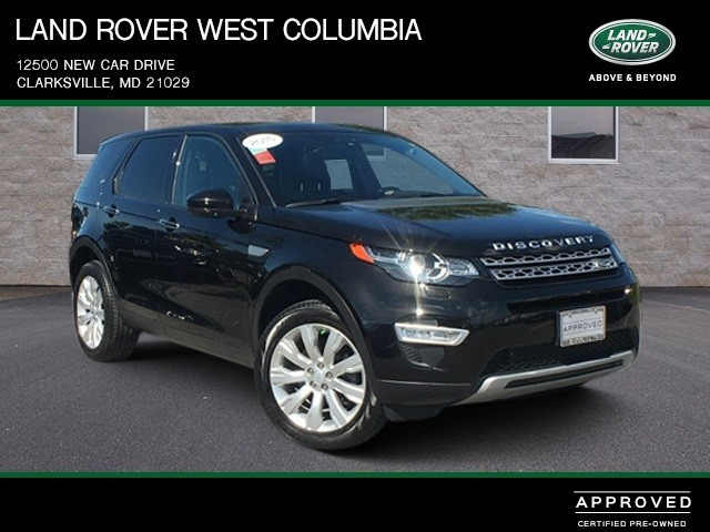 Certified Pre-Owned 2015 Land Rover Discovery Sport HSE LUX SUV in ...